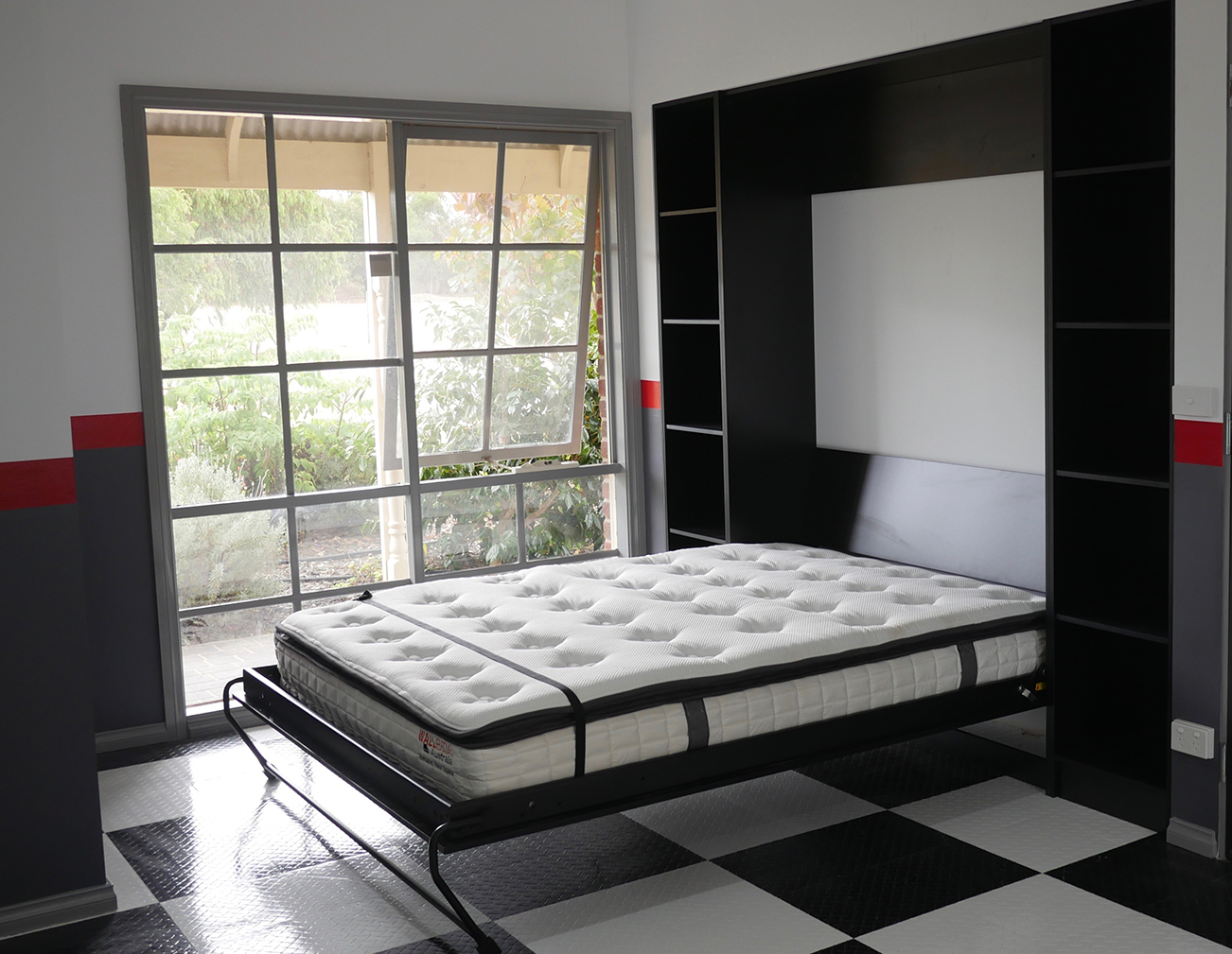wall bed black