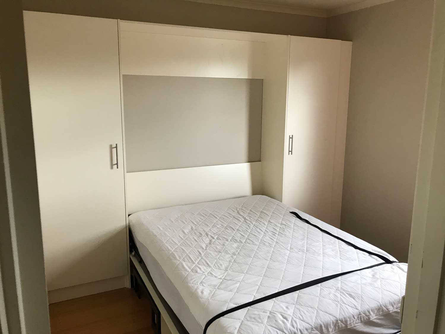 wall-bed install