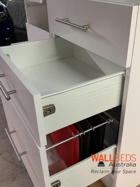 3 drawers suspension files