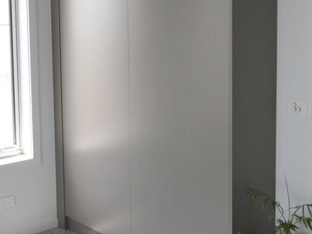 Wall Bed Grey Melamine Finish