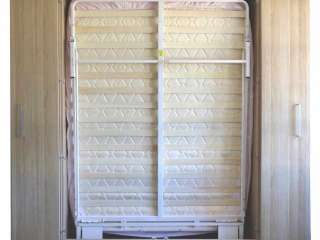 Next Bed Cupboard doors open